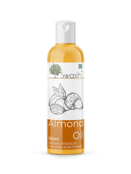 Swasth Almond Oil 100ml Front View