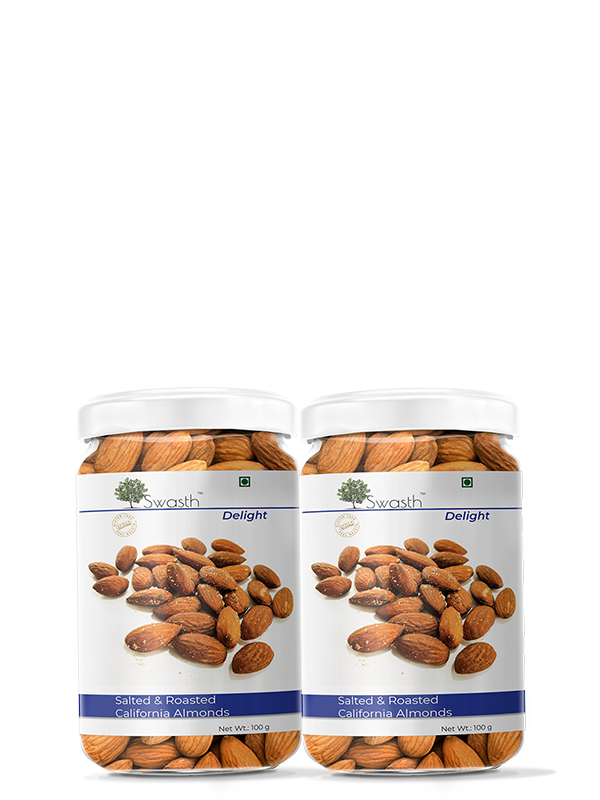 Swasth Delight Roasted Salted Almond